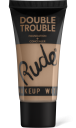Rude Cosmetics, Double Trouble Foundation + Concealer Natural, makeup