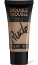 Rude Cosmetics, Double Trouble Foundation + Concealer Warm Natural, makeup