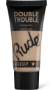 Rude Cosmetics, Double Trouble Foundation + Concealer Ivory, makeup