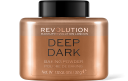 Revolution, Loose Baking Powder Deep Dark, pudr