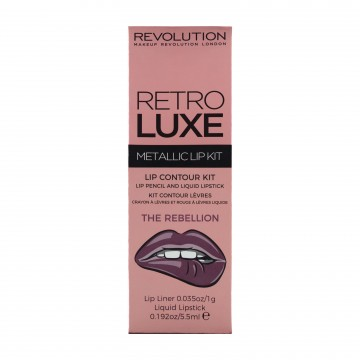 Revolution, Retro Luxe Kits Metallic The Rebellion, sada na rty