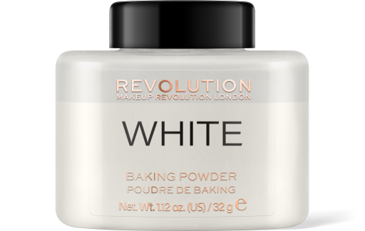 Revolution, Loose Baking White, pudr