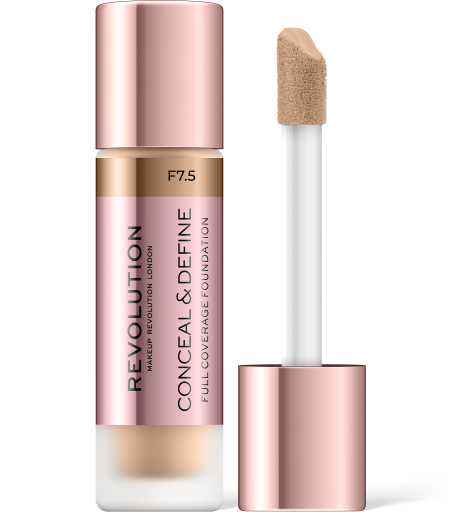 Revolution, Conceal & Define F7.5, makeup