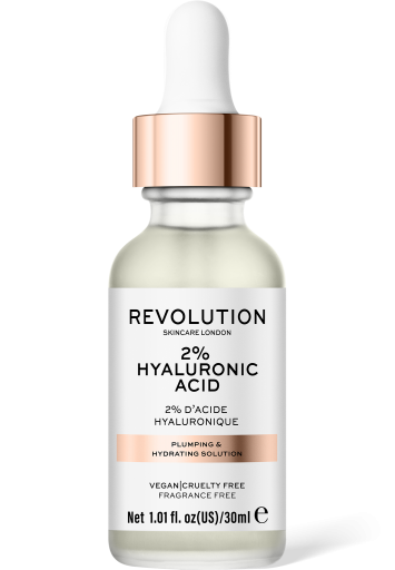 Revolution Skincare, Plumping & Hydrating Solution - 2% Hyaluronic Acid, sérum