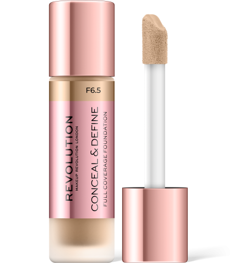 Revolution, Conceal & Define F6.5, makeup