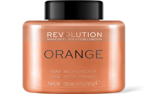 Revolution, Loose Baking Orange, pudr