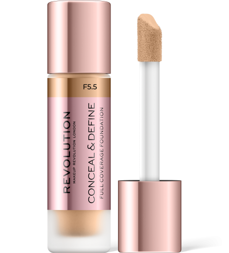 Revolution, Conceal & Define F5.5, makeup