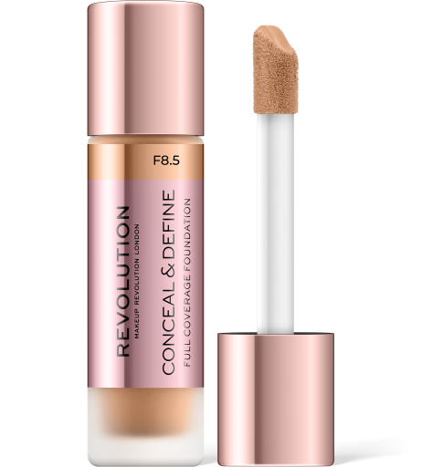 Revolution, Conceal & Define F8.5, makeup