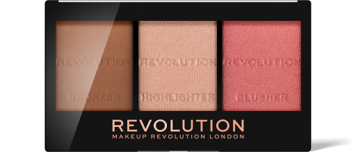 Revolution, Ultra Sculpt & Contour Kit Ultra Fair C01, paletka na tvář