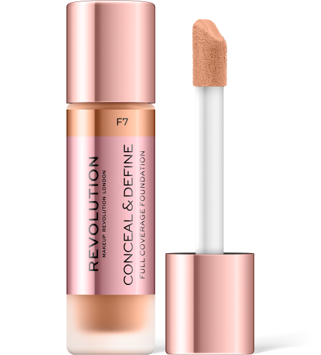 Revolution, Conceal & Define F7, makeup