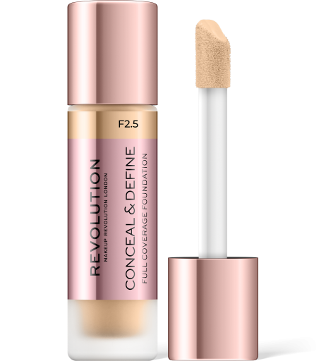 Revolution, Conceal & Define F2.5, makeup