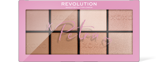 Revolution, X Petra XOXO Contour and Highlight, paletka na tvář