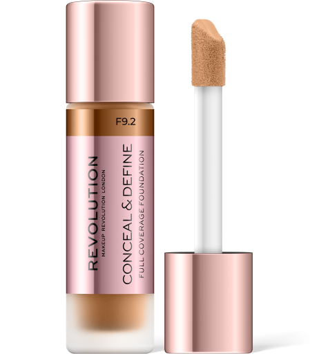 Revolution, Conceal & Define F9.2, makeup