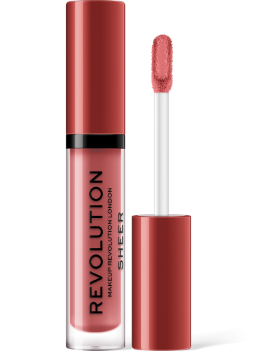 Revolution, Glorified 106 Sheer Lip, lesk na rty