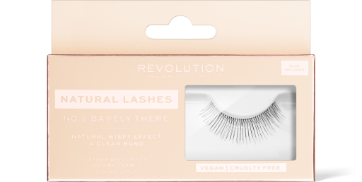 Revolution, No.2 Barely There Natural, řasy