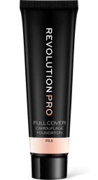 Revolution PRO, Full Cover Camouflage F0.5, makeup