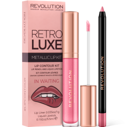 Revolution, Retro Luxe Kits Metallic In Waiting, sada na rty