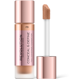 Revolution, Conceal & Define F9, makeup