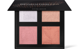 Revolution PRO, 4K Highlighter Palette Rose Gold, paletka rozjasňovačů