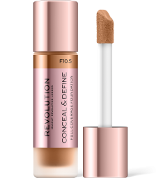 Revolution, Conceal & Define F10.5, makeup