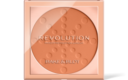 Revolution, Bake & Blot Peach, pudr