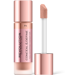 Revolution, Conceal & Define F4, makeup