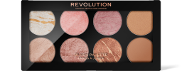 Revolution, Ultra Blush Palette Golden Sugar, paletka tvářenek
