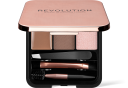 Revolution, Brow Sculpt Kit Brown, sada na úpravu obočí