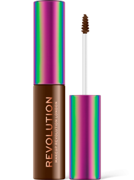 Revolution, High Medium Brown, fixační gel na obočí