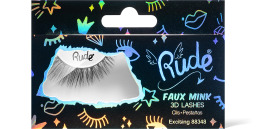 Rude Cosmetics, Essential Faux Mink 3D Exciting, řasy