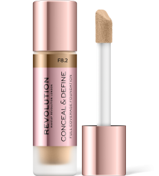 Revolution, Conceal & Define F8.2, makeup