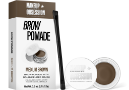 Makeup Obsession, Medium Brown, pomáda na obočí