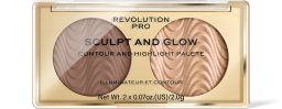Revolution PRO, Sculpt and Glow Savanna Nights, konturovací paletka