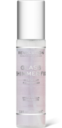 Revolution, Glass Shimmer Fix, fixační sprej na makeup