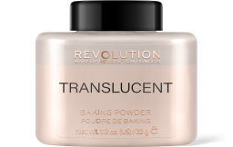 Revolution, Loose Baking Translucent, pudr