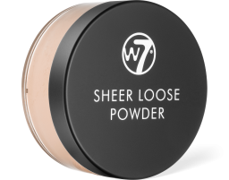 W7 Cosmetics, Sheer Loose Biscuit, pudr