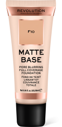 Revolution, Matte Base F10, makeup