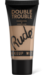 Rude Cosmetics, Double Trouble Foundation + Concealer Linen, makeup