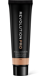 Revolution PRO, Full Cover Camouflage F12, makeup