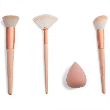 Revolution, Sculpt & Glow Brush Set with Blending Sponge, sada štětců