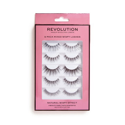 Revolution, 5 Pack Mixed Wispy, řasy