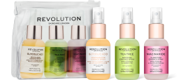 Revolution Skincare, Mini Essence Spray Kit: So Soothing, sada