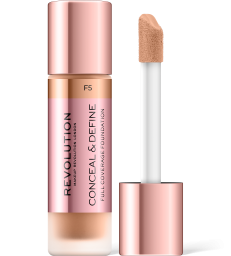 Revolution, Conceal & Define F5, makeup