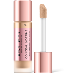 Revolution, Conceal & Define F6, makeup