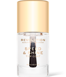 Revolution, Speed & Shine Top Coat, lak na nehty