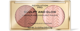 Revolution PRO, Sculpt and Glow Sands of Time, konturovací paletka