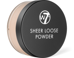 W7 Cosmetics, Sheer Loose Ivory, pudr