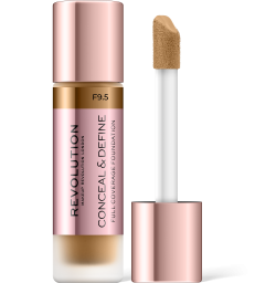 Revolution, Conceal & Define F9.5, makeup