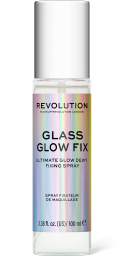 Revolution, Glass Glow Fix, fixační sprej na makeup