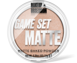Makeup Obsession, Game Set Matte - Matte Navagio, pudr